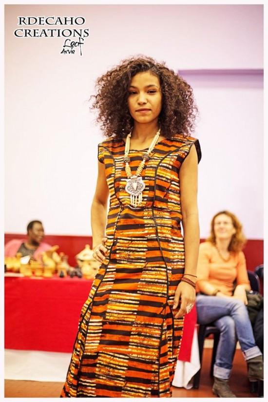 Défilé RDECAHO Créations Traversées Africaines Graulhet Nov2016