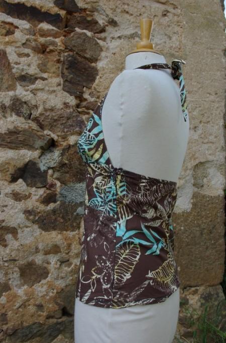 Bustier Coton Imprimé