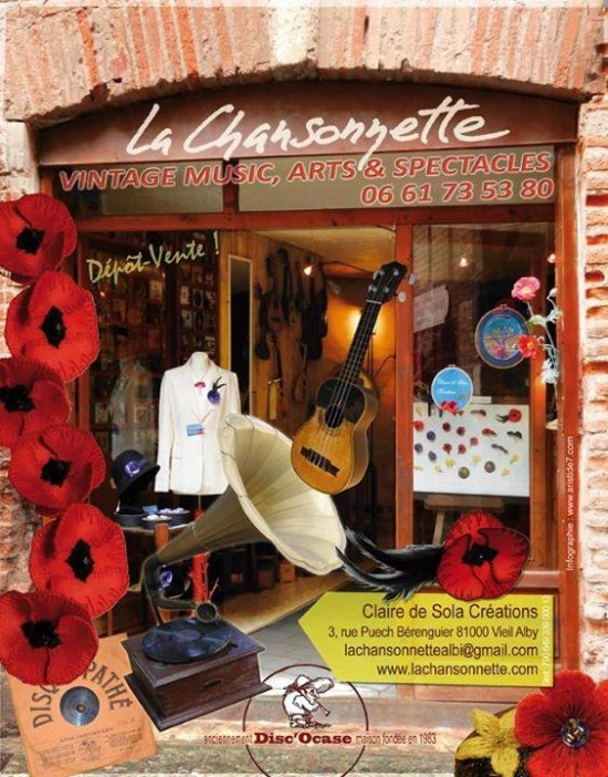 EXPO VENTE Boutique La CHANSONNETTE à ALBI
