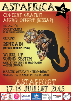 FESTIVAL AST'AFRICA 17/18 Juillet 2015